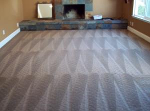 a clean carpet